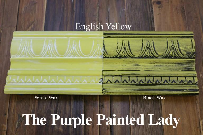 English Yellow Chalk Paint Quart
