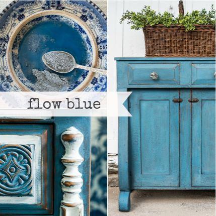 Flow Blue Milk Paint Quart