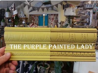 English Yellow Chalk Paint SAMPLE POT