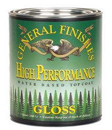 General Finishes GLOSS High Performance Polyurethane Wate...