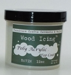 Poly Acrylic -  Satin 12oz = 54sq. ft. By Wood Icing