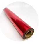 Red Gloss Metallic Foil ($2 per foot)