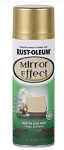 Rustoleum 6 Oz. Metallic Gold Mirror Effect Spray GOLD