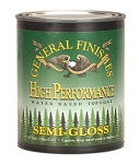 GENERAL FINISHES SEMI-GLOSS HIGH PERFORMANCE POLYURETHANE WATER BASED TOP COAT- PINT