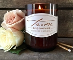 Trim Candles - ROSE PETALS