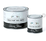 Annie Sloan WHITE MINI Wax Pot (120 ml) (enough to cover 2 chairs)