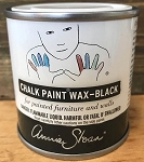 BLACK MINI POT Chalk Paint Wax (120 ml) (enough to cover 2 chairs)