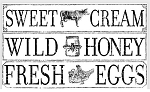 FARM FRESH SIGNAGE 14.25×24 IOD DECOR TRANSFER™