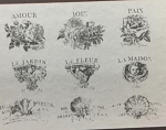 IRON ORCHID DESIGN DECOR TRANSFER:  French Pots V  Nine Designs 12
