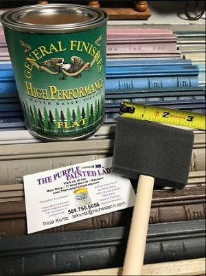 "3"" FOAM APPLICATOR PAINT BRUSH FOR GENERAL FINISHES PRODUCTS"