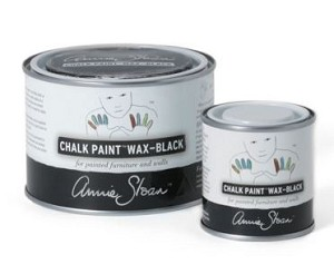 Annie Sloan BLACK Wax 500ml (largest tin available)