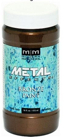 MODERN MASTERS - BRONZE Reactive Metallic Paint 6 oz