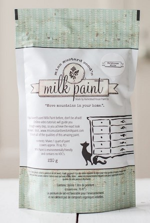 FARMHOUSE WHITE MILK PAINT 2 QUART PKG