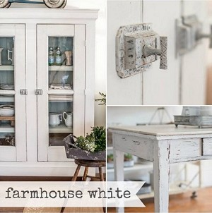 Farmhouse White Milk Paint Quart