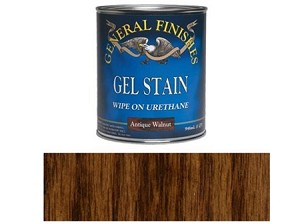 Gel Stain Antique Walnut HALF PINT (Antique Walnut Gel)