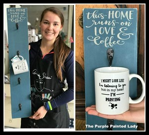 Coffee Cup Holder with Mug Workshop in Village Gate on Thursday, April 19th, 2018 at 1pm