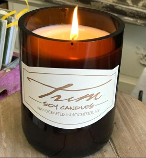 Trim Candle - TEAKWOOD