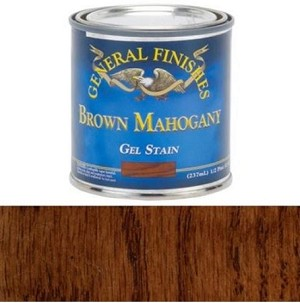 Gel Stain Brown Mahogany  (1 pint) Brown Mahogany