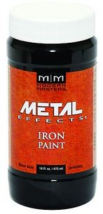 MODERN MASTERS - Oxidizing Iron Paint 16 oz (you need this to make rust!)