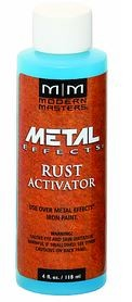MODERN MASTERS 4OZ RUST ACTIVATOR  SOLUTION