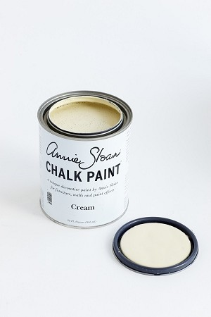 Cream Chalk Paint® Quart  (soft pale warm creamy YELLOW)