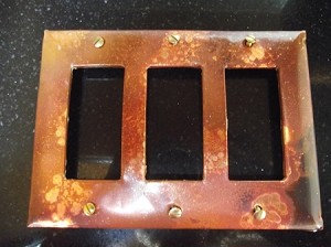 Galaxy Triple Rocker Electrical Switch Cover