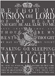 Be Thou My Vision Decor Transfer - White (11