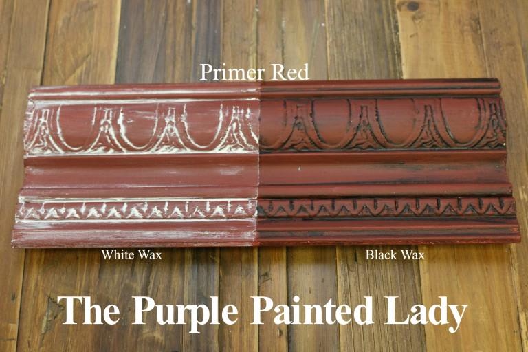 primer red chalk paint sample pot. Black Bedroom Furniture Sets. Home Design Ideas