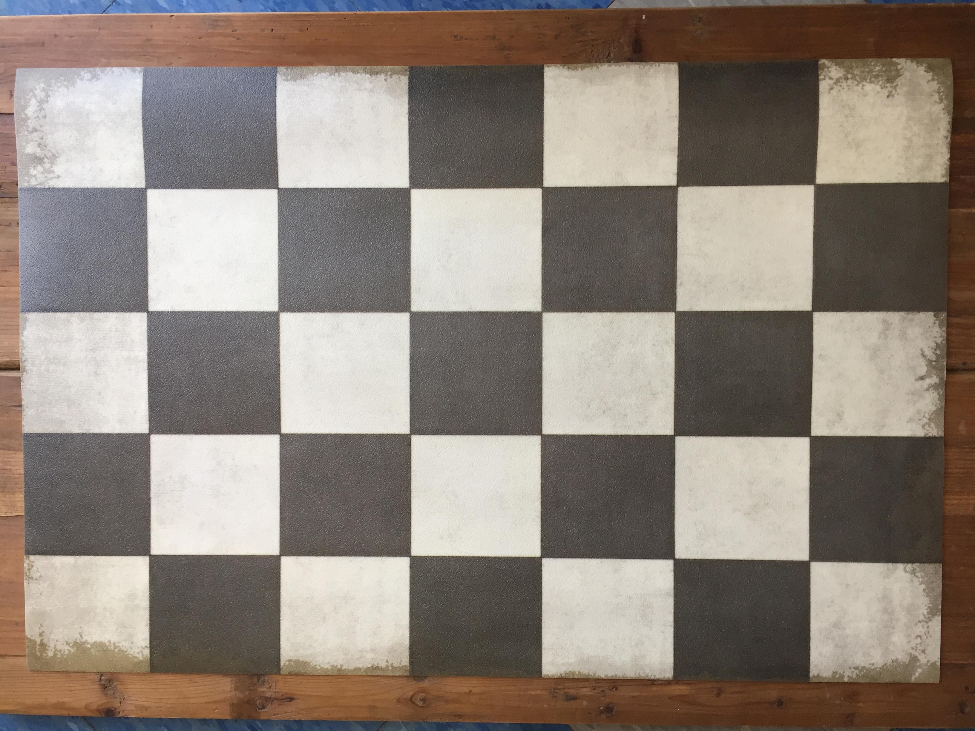 Vintage Vinyl Floor Mat 10