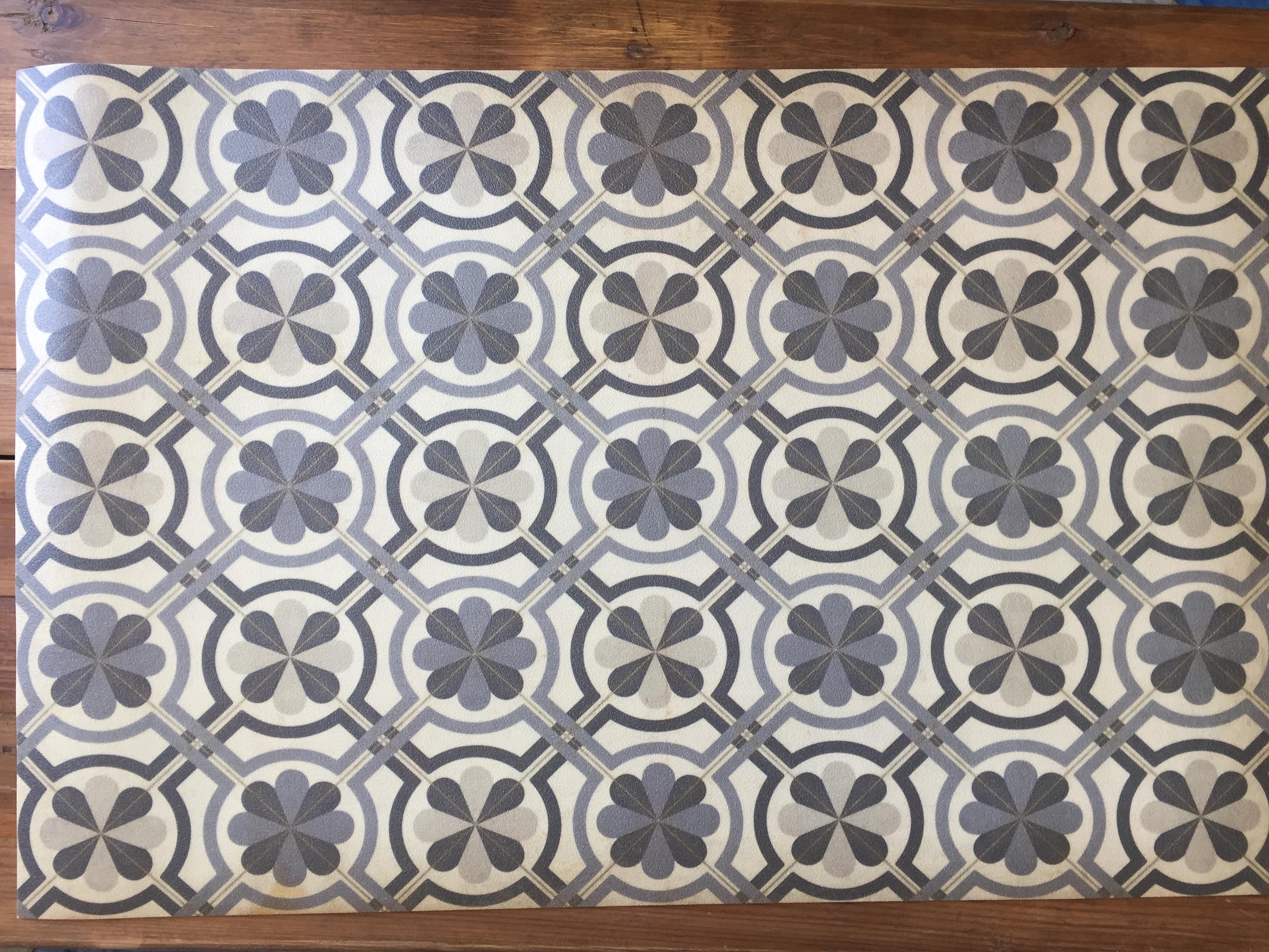 Vintage Vinyl Floor Mat 17