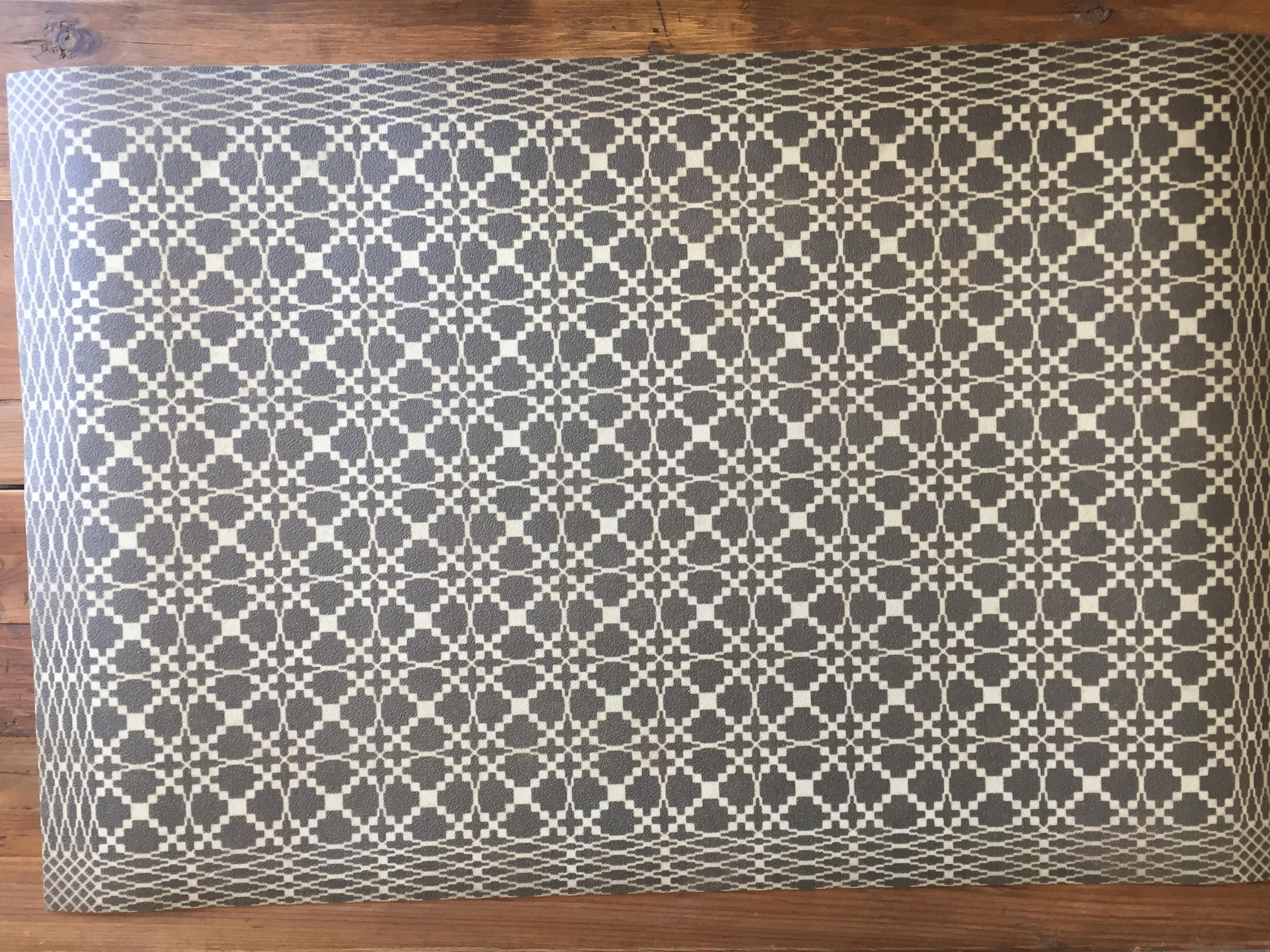 vintage vinyl floor mat #18