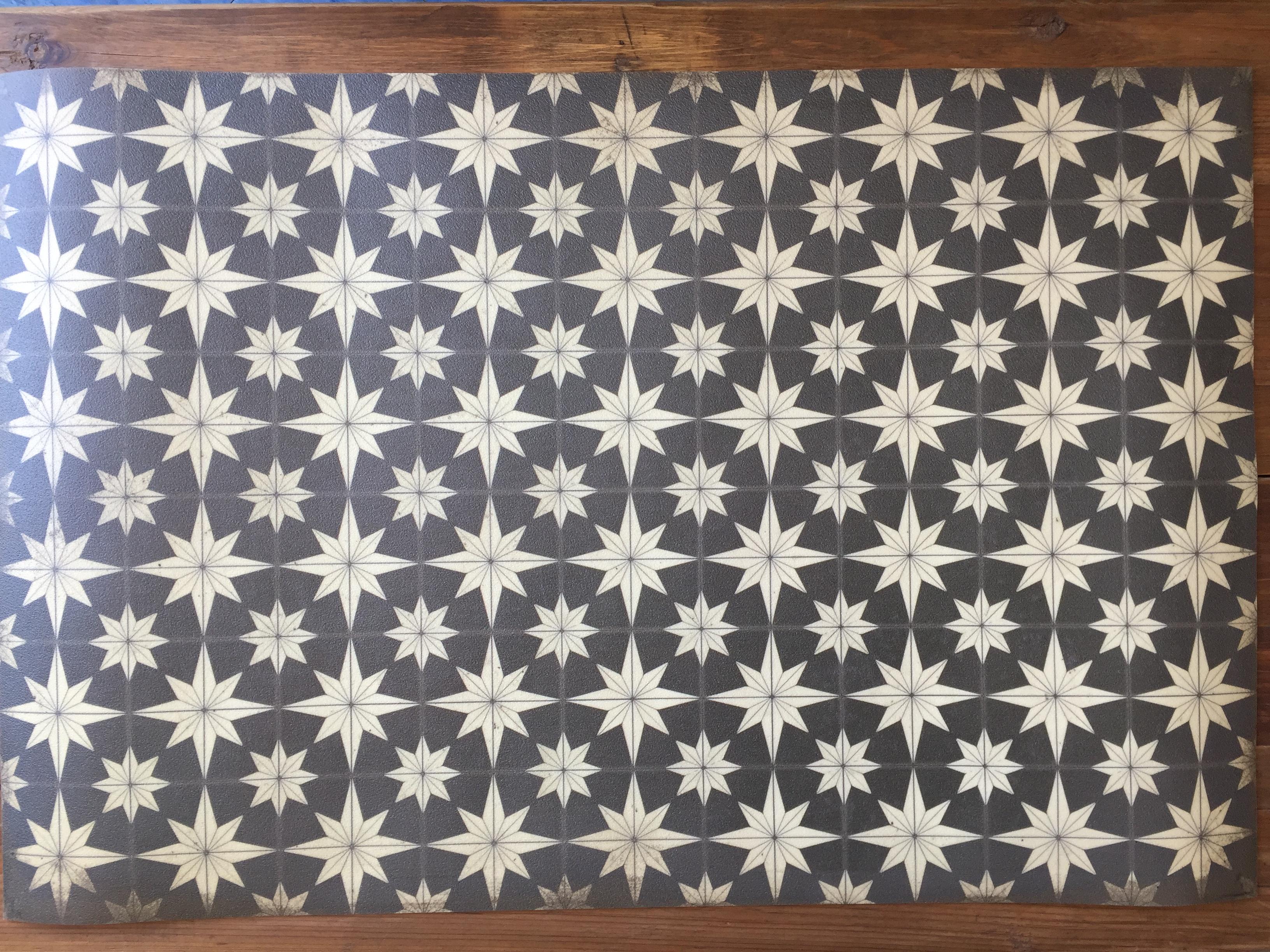 Vintage Vinyl Floor Mat 24