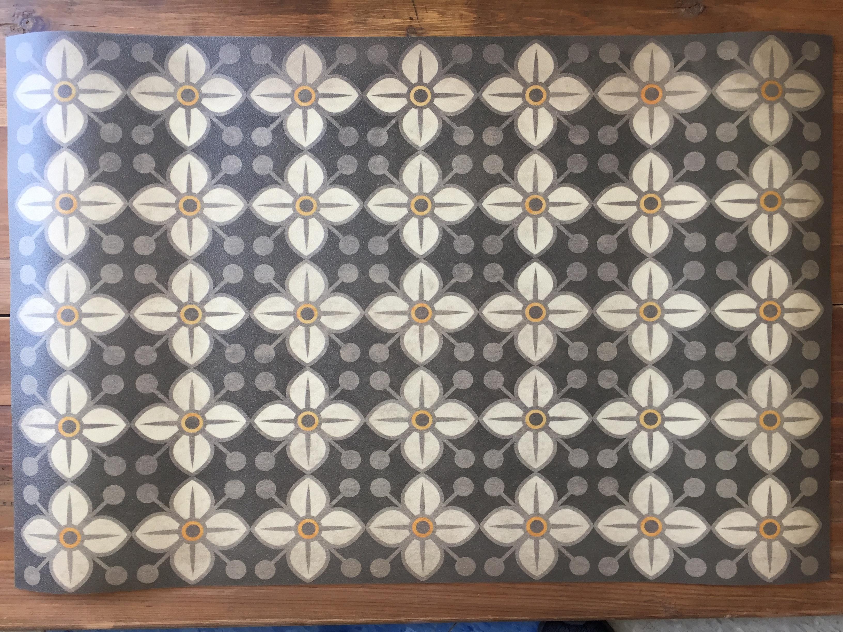 Vinyl Floor Mats >> Vintage Vinyl Floor Mat 29