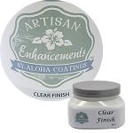 Artisan Enhancements - Clear Finish 8 Ounce (satin/glossy finish)