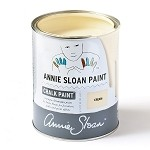 Cream Chalk Paint® Litre (soft pale warm creamy YELLOW)