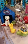 Buster the Dog - Fairy Garden