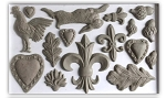 Iron Orchid Designs Fleur De Lis 6x10 Decor Moulds