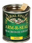 Oil Based Arm-R-Seal Urethane Topcoat Quart - Satin