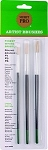 Merit Pro 3 Piece Artist Brush Set
