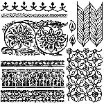 Iron Orchid Designs Bohemia Decor Stamps (12x12)
