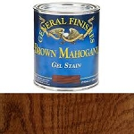 GEL STAIN BROWN MAHOGANY (1/2 PINT) BROWN MAHOGANY