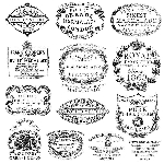 Iron Orchid Designs Crockery Decor Stamps (12x12)