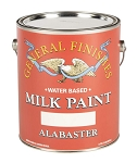 General Finishes Milk Paint Alabaster Pint