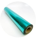 Peacock Teal Metallic Foil ($2 per foot)