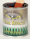 General Finishes Water Based Pearl Effects Copper Pint