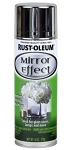 Rustoleum  6 Oz. Metallic Mirror Effect Spray Silver