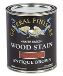 General Finishes Water Based Wood Stain - Antique Brown Pint