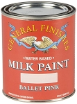 General Finishes Milk Paint Ballet Pink Quart