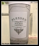 Blessed Home Redesign Transfer- 24.6'' x 30''