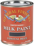 General Finishes Milk Paint Coastal Blue Quart